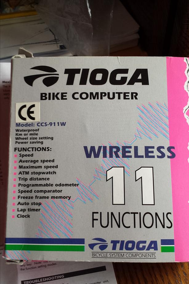 Tioga 11 function bicycle computer