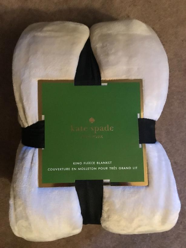 Brand New With Tags King Size Kate Spade Blanket Esquimalt View