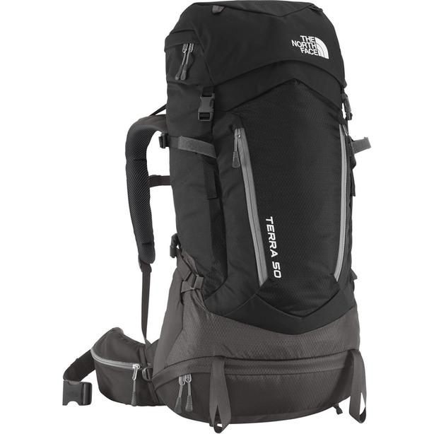 The North Face Terra 50 Backpack - Black - LXL
