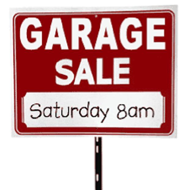 Family Amp Friends Garage Sale Saturday July 7 8am 2 Pm North