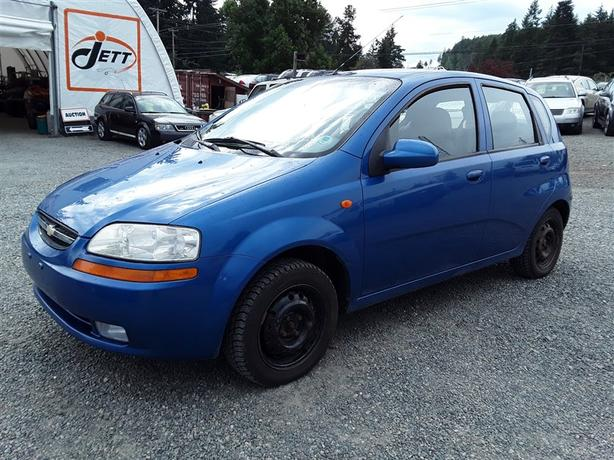 2004 Chevrolet Aveo 4 Cylinder Fwd With 228k Km39s Clean