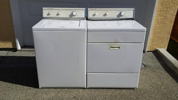 Ordinaire KitchenAid Washer U0026 Dryer (used)