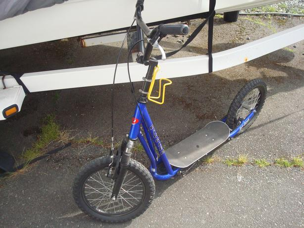  Log In needed $95 · Adult sized Diggler Dirt-Dawg scooter