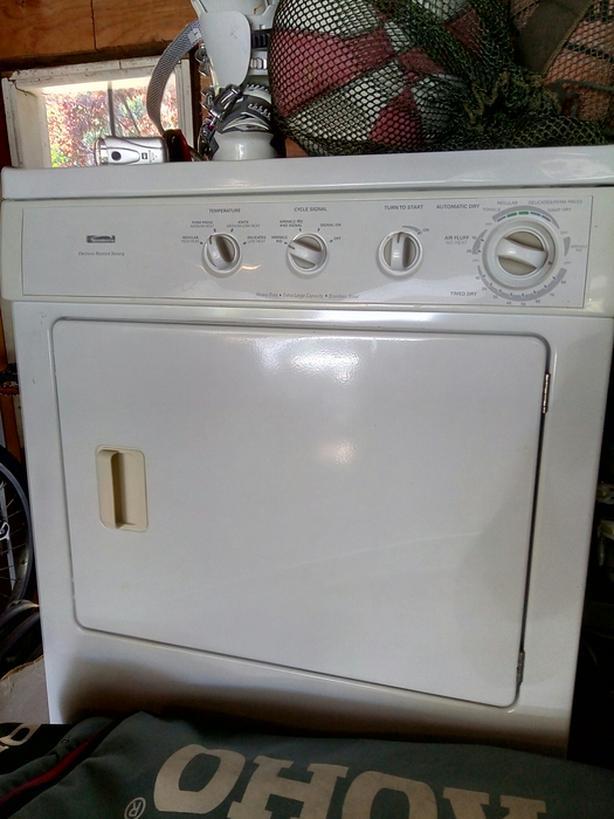 Kenmore moisture sensing heavy duty dryer