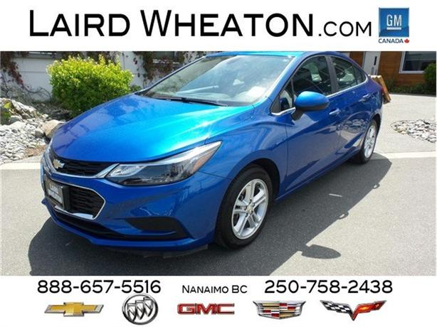 2017 Chevrolet Cruze LT Automatic, Sunroof, Back-Up Camera