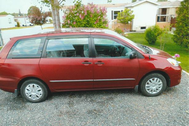 REDUCED---CERTIFIED---MINIVAN FOR SALE