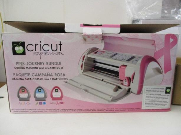 Cricut Expressions Pink Journey Bundle - plus 3 cartridges