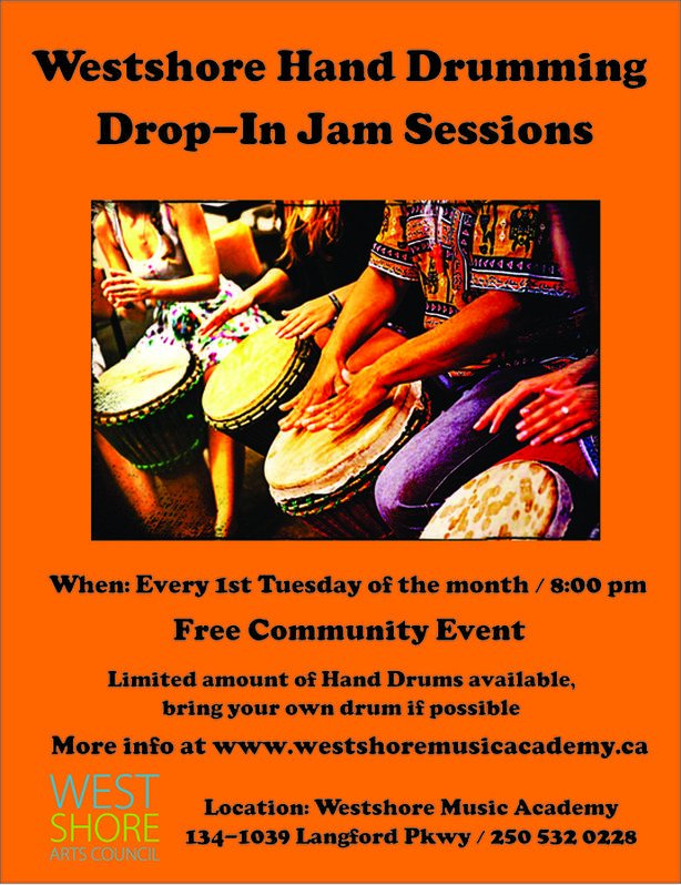 Free Hand Drumming Group Sessions