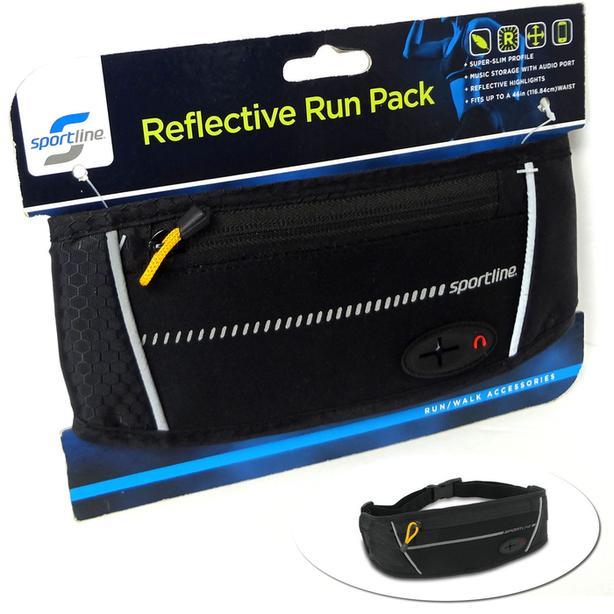 SPORTLINE Reflective Run Pack Waist Bag