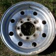 "Aluminum rim for 16"" truck tire"