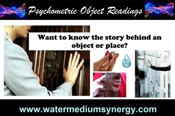 Psychometric Energy Touch Object & Property Readings