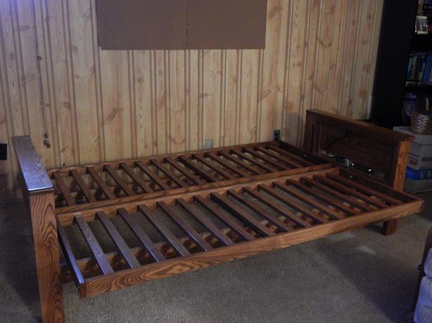 Futon double bed