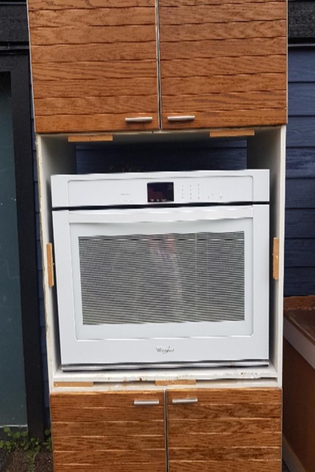 whirlpool wallmount oven
