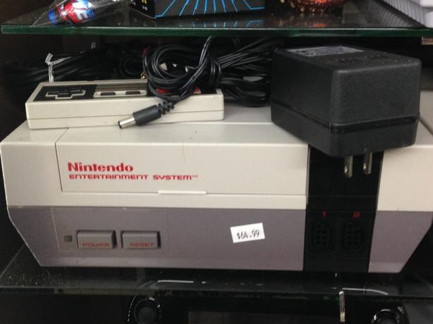Classic Nintendo Game Console Complete