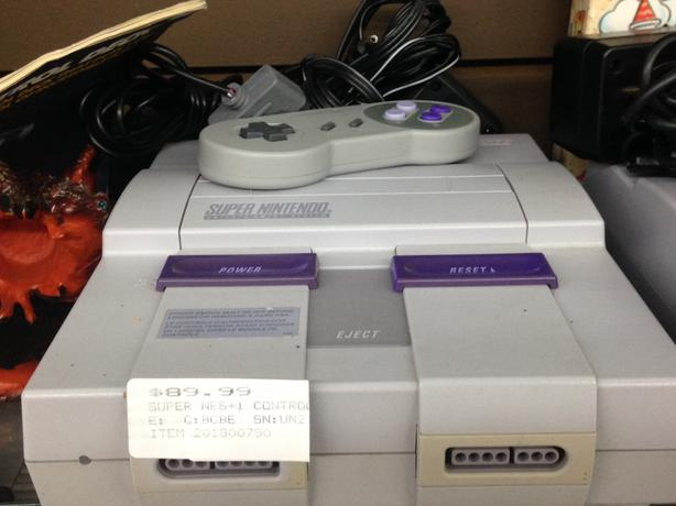 Super Nintendo Gaming Console, W/Controller and Cables