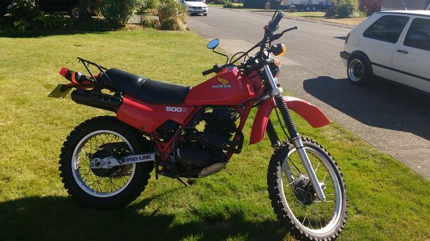 82 Honda XL500R