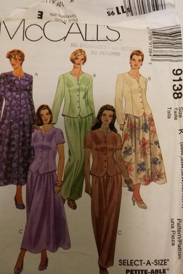 Vintage Sewing Pattern Plus Size Saanich Victoria