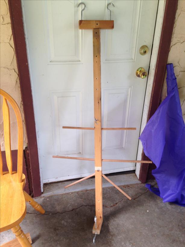 FREE: hockey gear hanger
