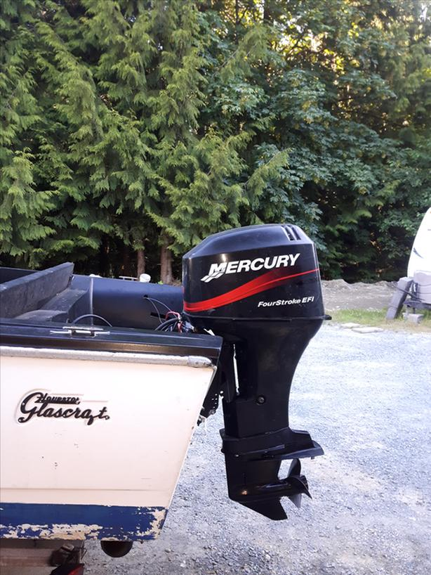  Log In needed $2,800 · 15 1/2 ft Hourston Glascraft with 60hp Merc