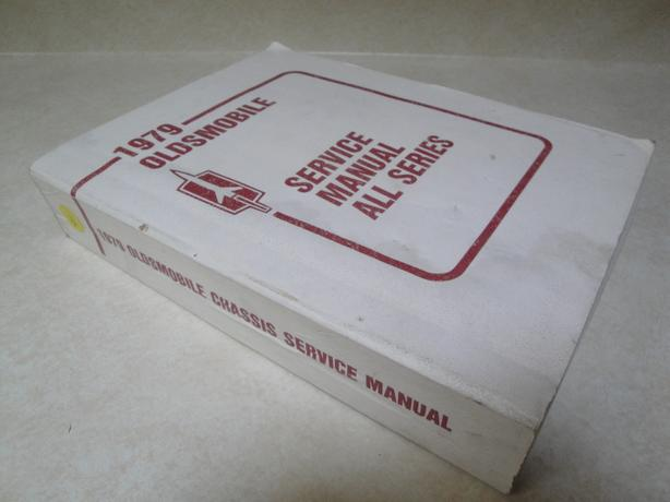 Original Oldsmobile 1979 Chassis Service Manual, All Series (great condition)