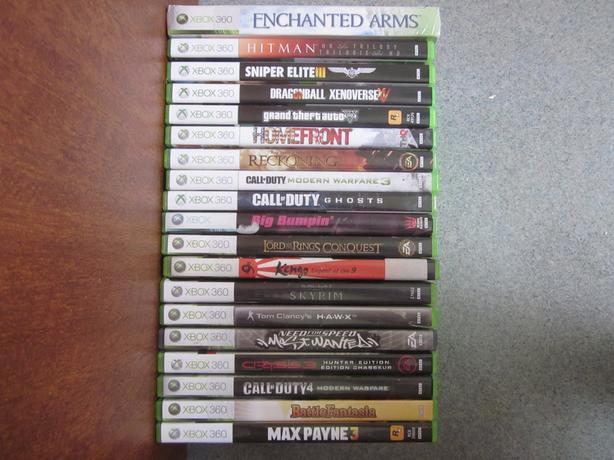 Xbox 360 Game Lot - 19 Games (GTA V, Call of Duty