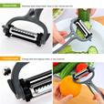 3-in-1 Rotary Vegetable Peeler