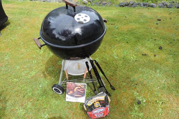 Weber Briquette  BBQ