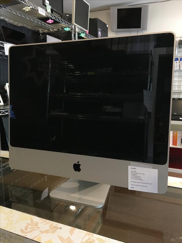 """Reduced! 24"""" iMac 2.4 GHz C2D 4 GB RAM 2 TB HD w/ Warranty!"""