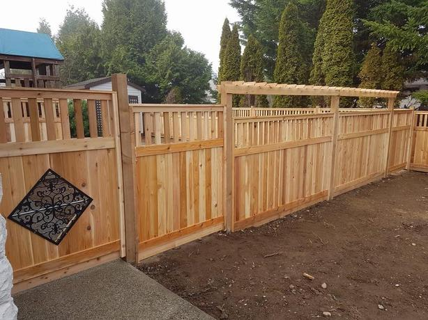 [IN STORE SALE] THICKEST CEDAR FENCE PANEL LOCALLY BUILT