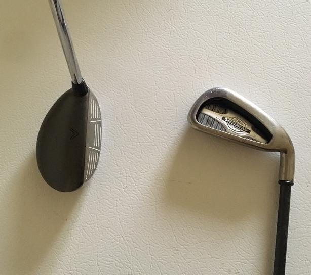 Calkaway Big Bertha 2h Hybrid and # 3 Iron Right Hand - 2 For Sale