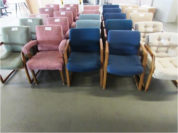 25 great condition chairs (that's only $4.00 each!
