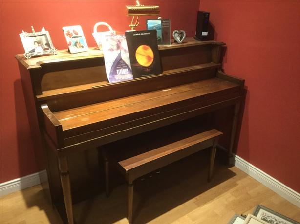 FREE: Apartment size piano