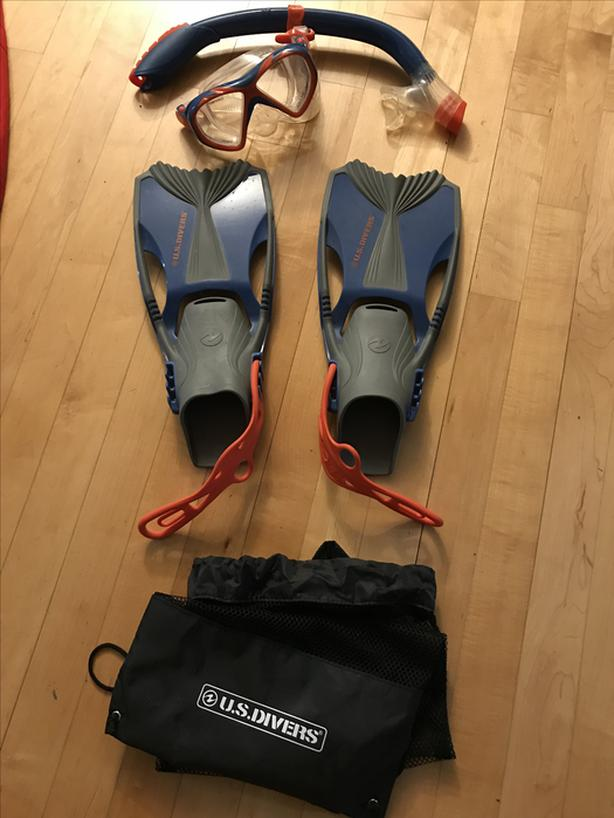 Youth Snorkel Set - new condition