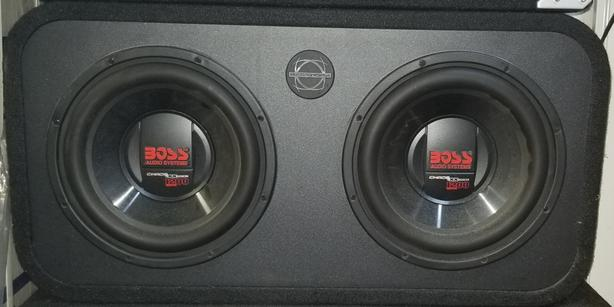 "Dual 10"" Subwoofers in a Sealed Bassworx Box"