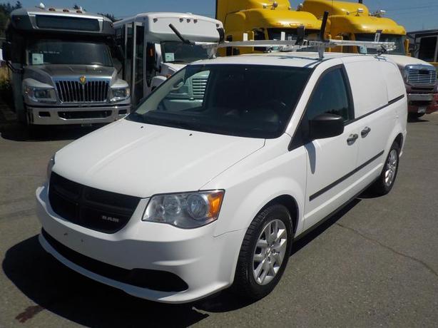 2014 Dodge Caravan Cargo Van with Shelving & Ladder Rack
