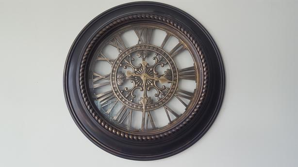 Large Roman Numeral Wall Clock Vancouver City Vancouver