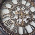Large Roman Numeral Wall Clock