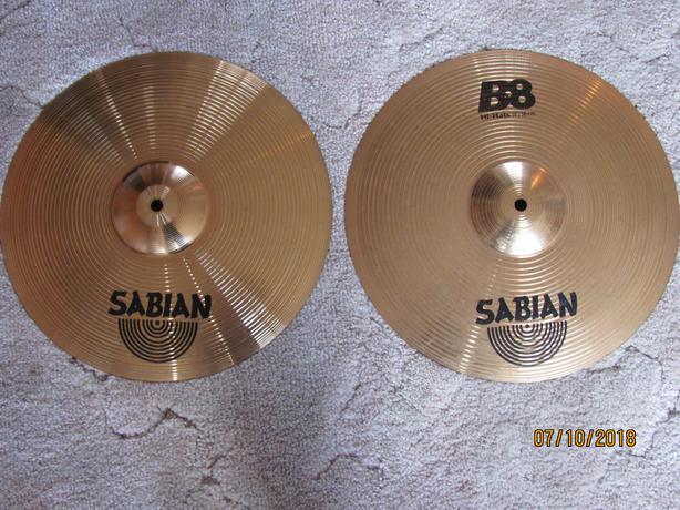 Sabian B8 hi-hats