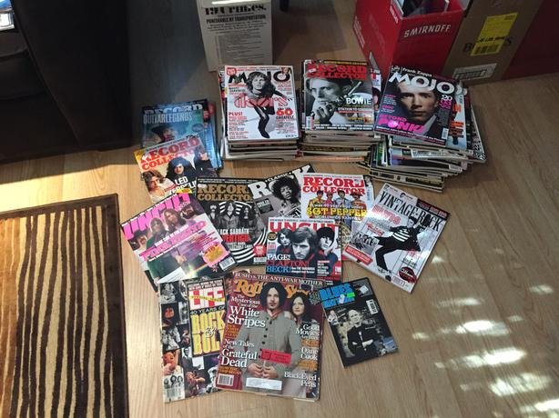 RECORD COLLECTOR MAGAZINES ++++