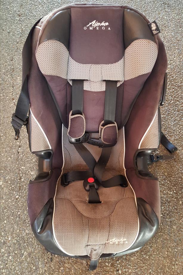 Alpha Omega Car Seat
