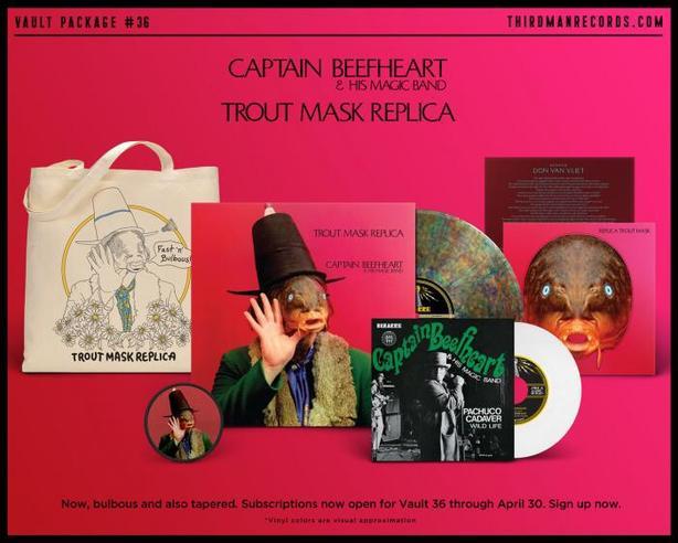 Captain Beefheart Trout Skin Mask vinyl