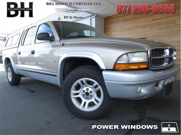 2002 Dodge Dakota SLT - Trailer Hitch - Power Windows