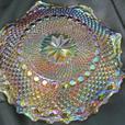 Vintage Carnival Glass Bowl