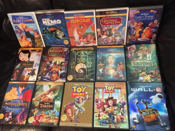 Disney dvd movies!