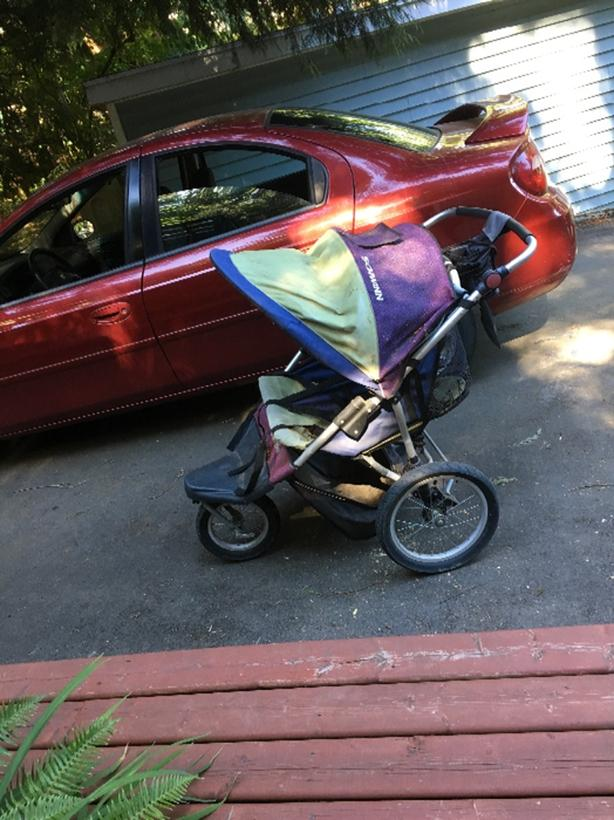 FREE: Great 2 Dog Stroller