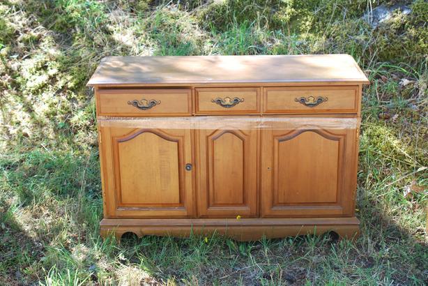 FREE: maple wood hutch
