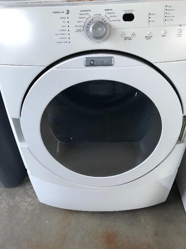 FREE: Maytag front-load dryer