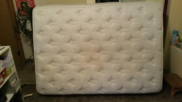 FREE: Good Condition Double Mattress