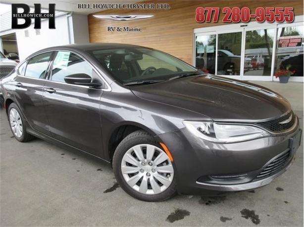 2016 Chrysler 200 LX - Uconnect - $137.90 B/W