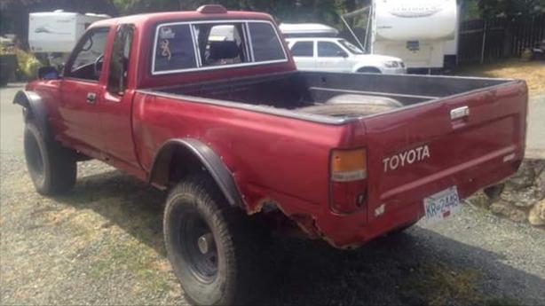 WANTED: truck box for 1994 Toyota 4x4 pickup